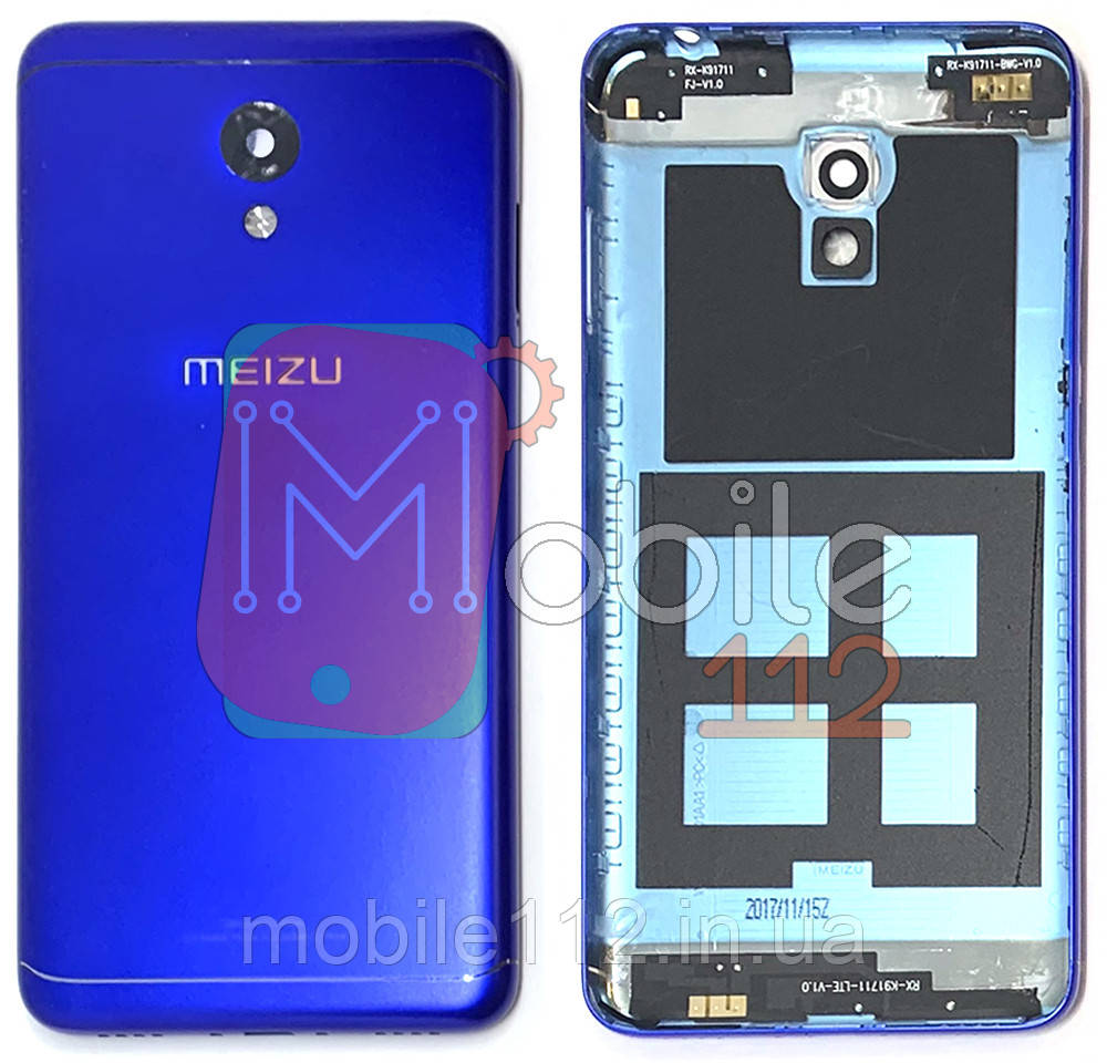Задняя крышка Meizu M6 M711H M711M M711Q синяя оригинал Китай