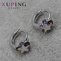 Серьги женские Xuping Jewelry медицинское золото - 1110713438