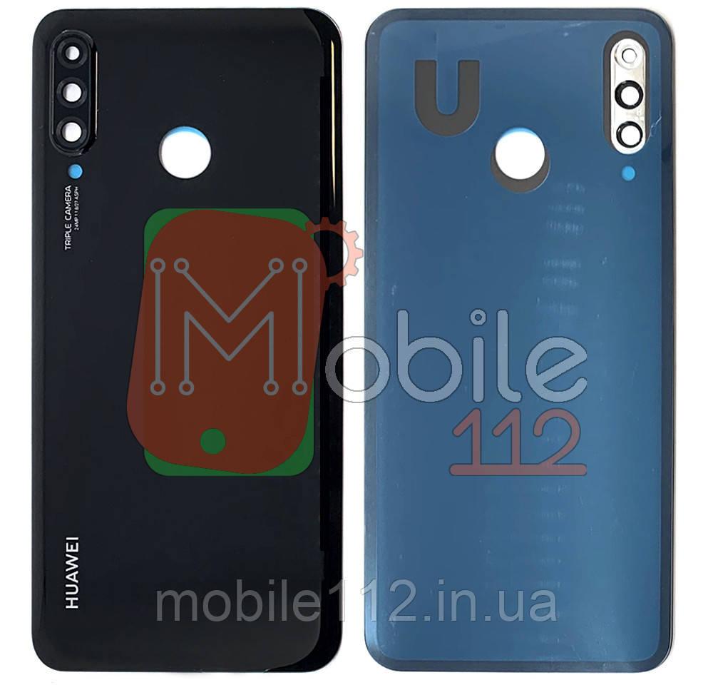 Задняя крышка Huawei P30 lite MAR-LX1A MAR-L01A L21A LX2 черный оригинал Китай со стеклом камеры