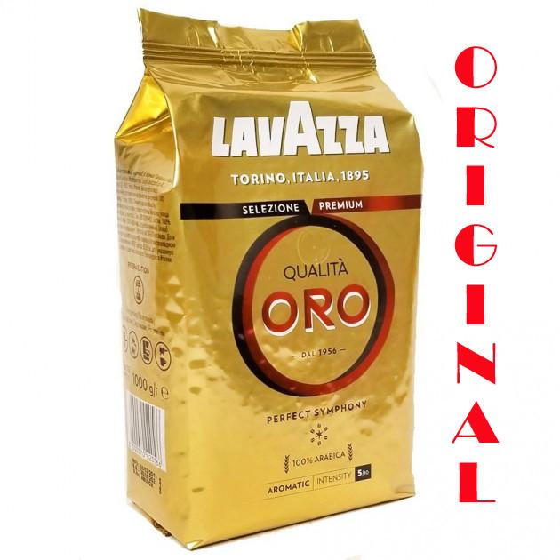 Кофе в зернах Lavazza Qualità Oro 100% арабика 1000 г