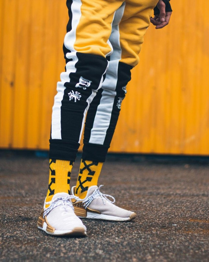 Спортивні штани Triplekill чорно-жовті