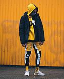 Спортивні штани Triplekill чорно-жовті, фото 3