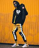 Спортивні штани Triplekill чорно-жовті, фото 4