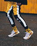 Спортивні штани Triplekill чорно-жовті, фото 5