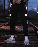 Спортивні штани Гармата Вогонь Wline чорні, фото 2