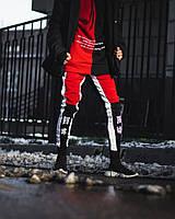 Спортивные штаны Triplekill черно-красные, фото 1
