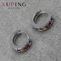 Серьги женские Xuping Jewelry медицинское золото - 1110720380