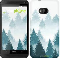 """Чехол на HTC Desire 616 dual sim Акварельные Елки """"4720u-670-535"""""""