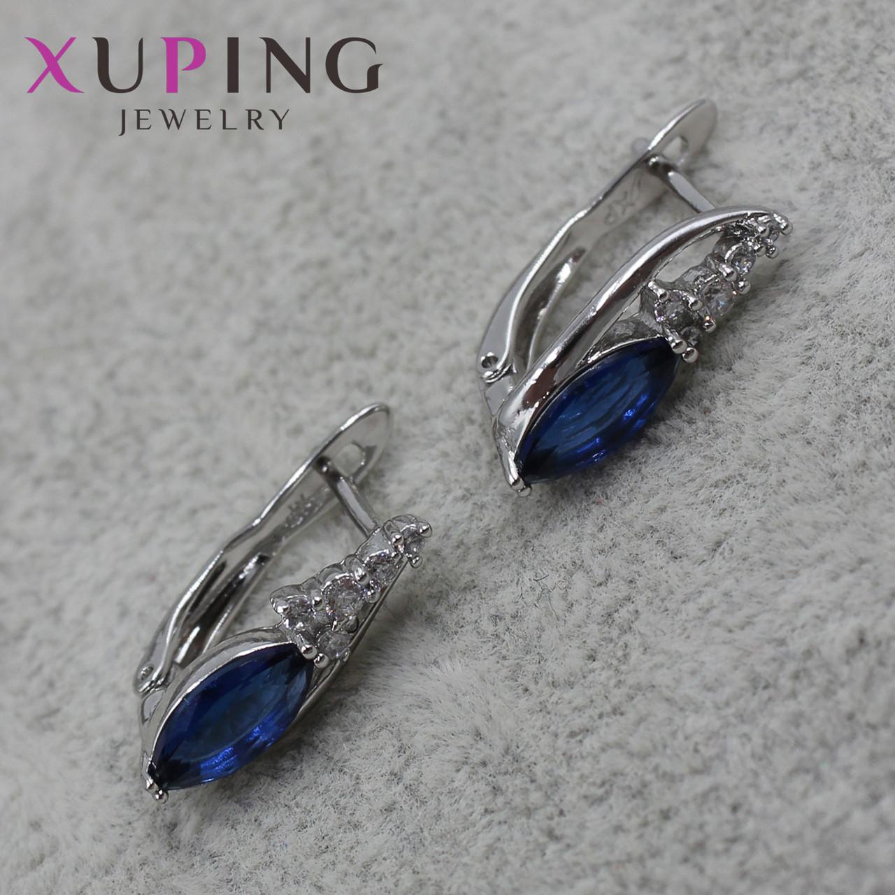 Серьги женские Xuping Jewelry медицинское золото - 1110721685