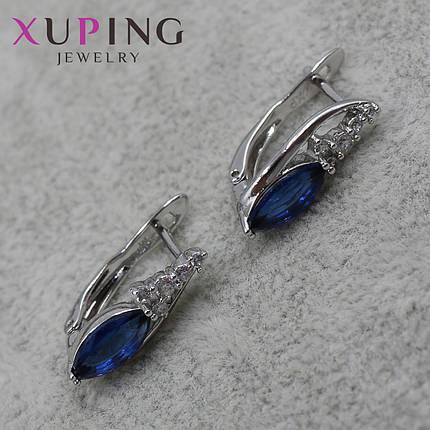 Серьги женские Xuping Jewelry медицинское золото - 1110721685, фото 2