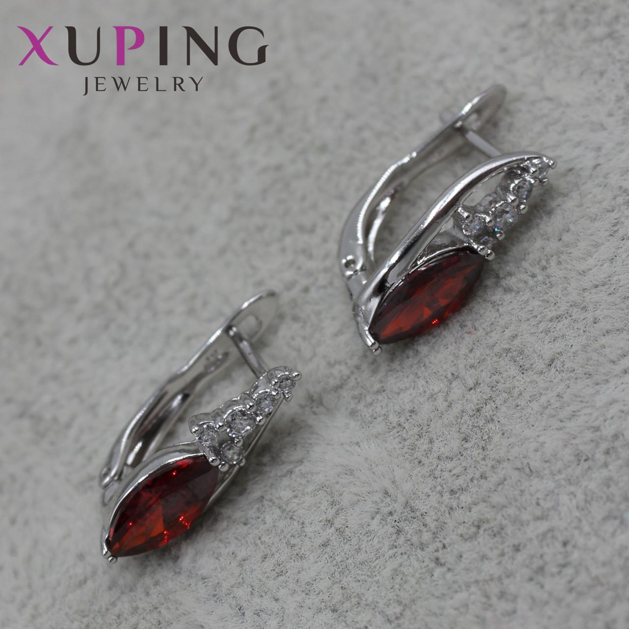 Серьги женские Xuping Jewelry медицинское золото - 1110722592
