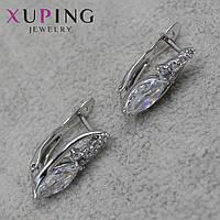 Серьги женские Xuping Jewelry медицинское золото - 1110722850