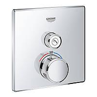 Термостат для душа, встраиваемый без подключения шланга Grohe Grohtherm SmartControl 29123000