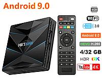 Смарт приставка HK1 Super 4/32GB Android 9.0 Smart TV Box Оригинал, фото 1