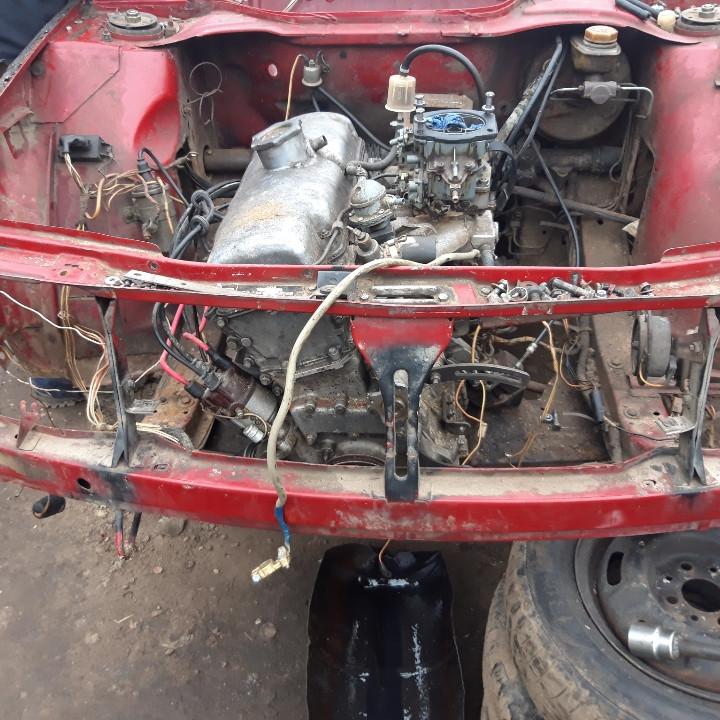 Двигатель  1.5 МОСКВИЧ.