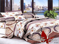 Комплект постельного белья двухспальный B233 ТМ TAG 2-спальный, постельное белье двухспальное