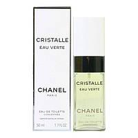 Оригинальные женские духи CHANEL Cristalle Eau Verte 50ml туалетная вода, чудесный цитрусовый цветочный аромат