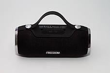Портативная колонка 4YOU FREEDOM (IPX4, 10W, 1500mah, эксклюз. дизайн, гар 12мес) black, фото 3