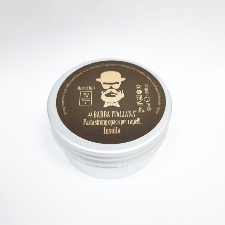 Barba Italiana Матовая паста для волос экстрасильной фиксации INSOLIA 50 мл