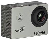 Экшн камера SJCAM SJ4000 WiFi silver, фото 1