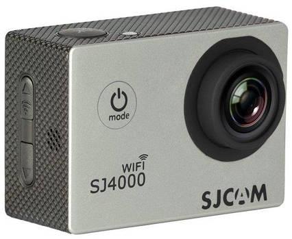 Экшн камера SJCAM SJ4000 WiFi silver