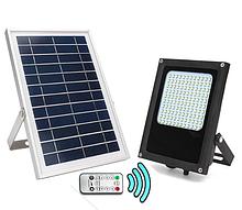 Світлодіодний світильник на сонячній батареї з пультом ДУ 120 LED