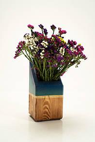 Декоративна ваза для квітів Pride&Joy із дерева