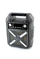 Портативная колонка B709 (Bluetooth, FM, USB, LED дисплей, микрофон + подставка) Black