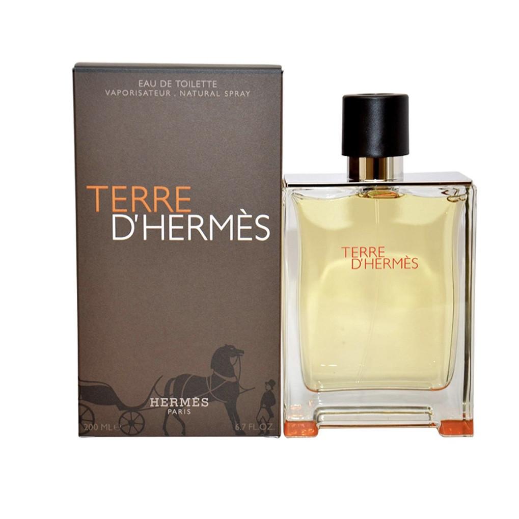 Чоловічі духи туалетна вода Hermes Terre d'hermes 100ml, чудовий деревно-пряний аромат ОРИГІНАЛ