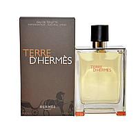 Мужские духи туалетная вода Hermes Terre D'Hermes 100ml, восхитительный древесно-пряный аромат ОРИГИНАЛ