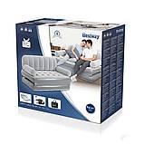 Надувной диван кровать BestWay со встроенным электро насосом 3 в 1, фото 3