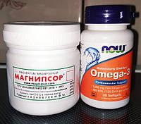 Набор - мазь от псориаза Магнипсор и Омега 3 - лучшее сочетание при лечении псориаза!