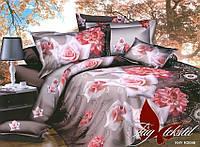 Комплект постельного белья двухспальный R2098 ТМ TAG 2-спальный, постельное белье двухспальное