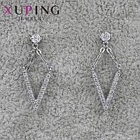 Серьги женские Xuping Jewelry медицинское золото - 1110749922