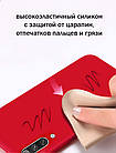 Силиконовый чехол Xiaomi Redmi Note 8 с микрофиброй Liquid Silicon Case, фото 4