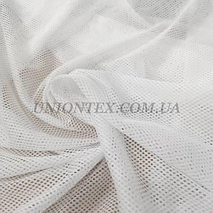 Ткань сетка спорт белая
