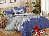 Комплект постельного белья двухспальный с компаньоном S220 ТМ TAG 2-спальный, постельное белье двухспальное