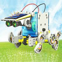 Робот конструктор на солнечной батарее 13 в 1 (Robot Solar)