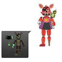 Шарнирная фигурка 5 ночей с Фредди «Светящиеся в темноте» Five Nights at Freddy's Rockstar Foxy