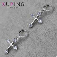 Серьги женские Xuping Jewelry медицинское золото - 1110759598