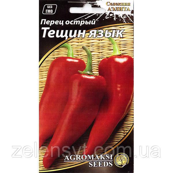 """Насіння перцю раннього, гострого """"Тещин язик"""" (0,2 г) від Agromaksi seeds"""