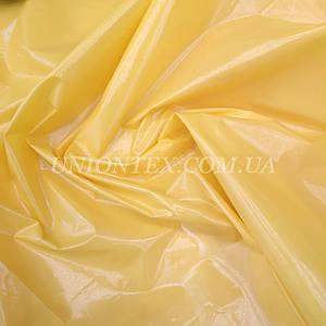 "Ткань плащевка монклер ""moncler"" желтый"
