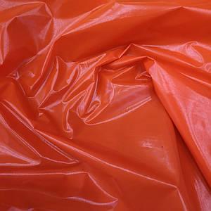 """Ткань плащевка монклер """"moncler"""" оранжевый"""