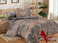 Комплект постельного белья двухспальный с компаньоном S298 ТМ TAG 2-спальный, постельное белье двухспальное