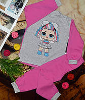 Пижама детская, начес, р.30-32-34-36