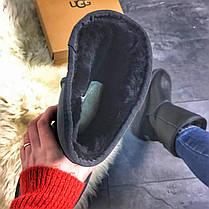 UGG Classic Black Leather, фото 3