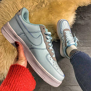 Nike Air Force 1 Low Mint White, фото 2