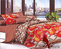 Комплект постельного белья Евро XHY2119 ТМ TAG Evro, постельное белье евро