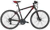 Велосипед кросс INDIANA 2.0 M21 black-red