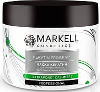 Маска для интенсивного восстановления волос Кератин